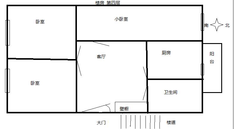 楼房平面图大门