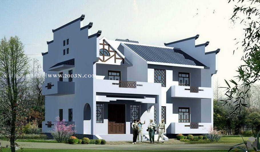求150平米两层别墅设计图包含施工图,效果图,水电图.邮箱81997735@qq.
