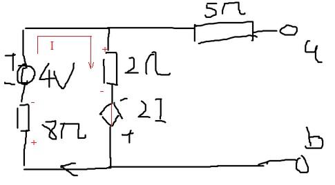 求解戴维南电路的等效电路的画法