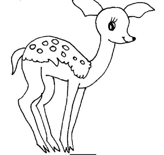 梅花鹿怎么画