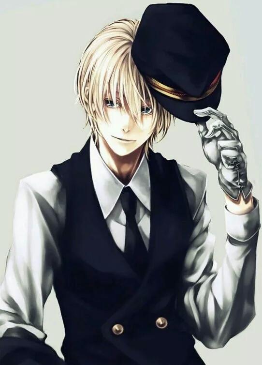 qq头像动漫男生绅士