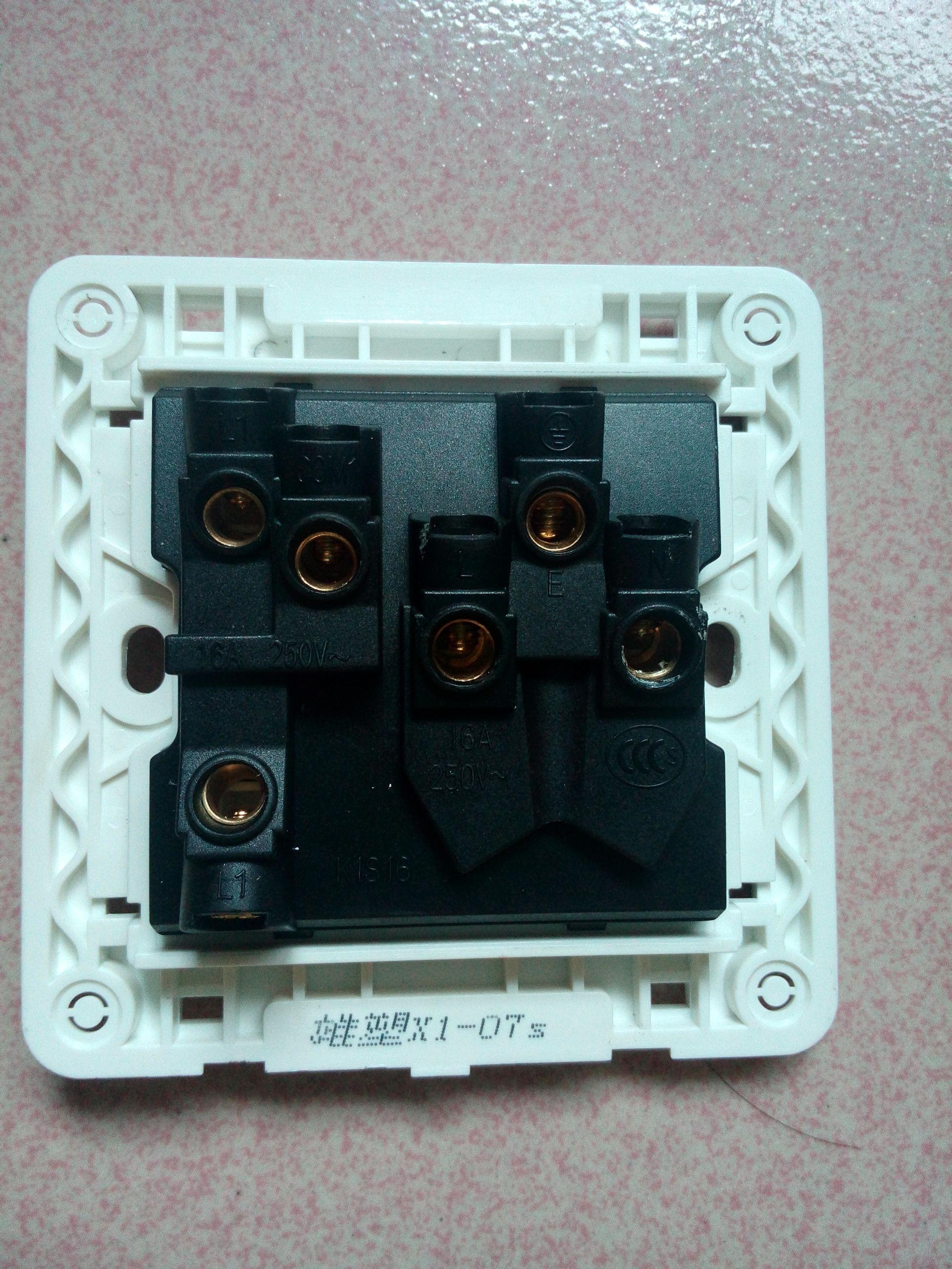 一开3孔插座面板,开关如何控制插座? 开关上有L,L1,L2!插座上有L,N,地!就接线图!(图3)  一开3孔插座面板,开关如何控制插座? 开关上有L,L1,L2!插座上有L,N,地!就接线图!(图6)  一开3孔插座面板,开关如何控制插座? 开关上有L,L1,L2!插座上有L,N,地!就接线图!(图8)  一开3孔插座面板,开关如何控制插座?