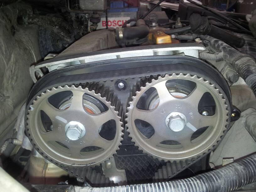 奇瑞sqr481f发动机正时皮带怎么更换,对点