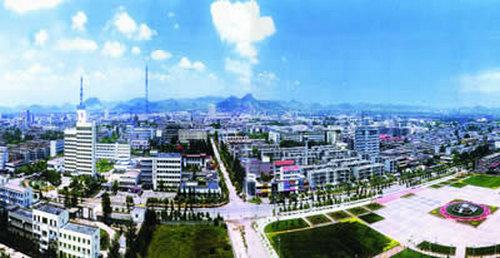 山亭区西部城区规划图