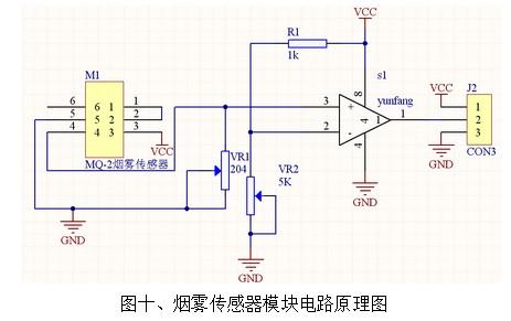 mq-2传感器模块工作原理