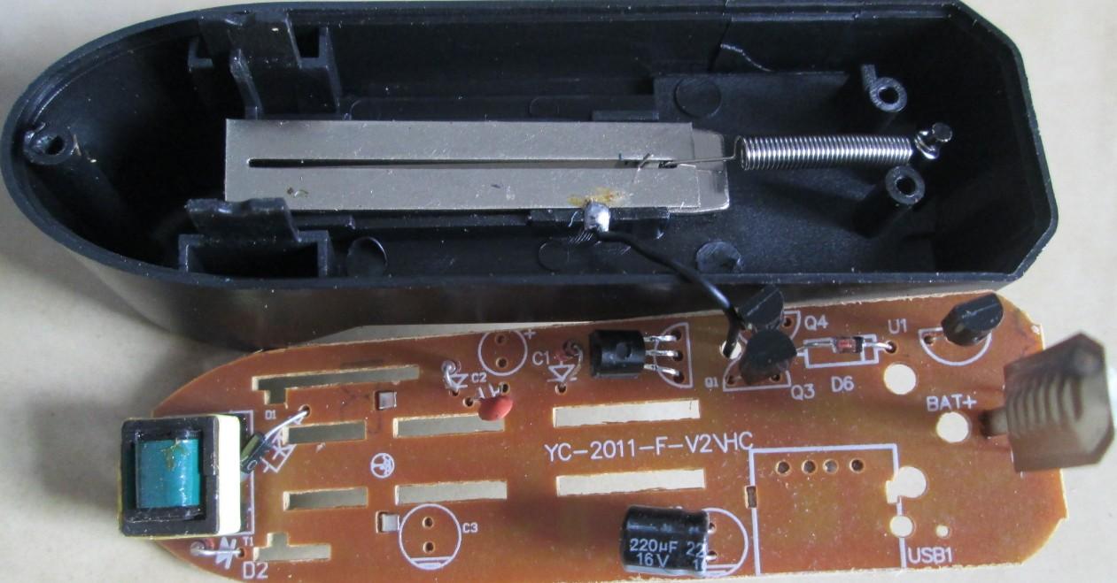 18650,14500锂电池充电器输出电压过高及电路图详细分析