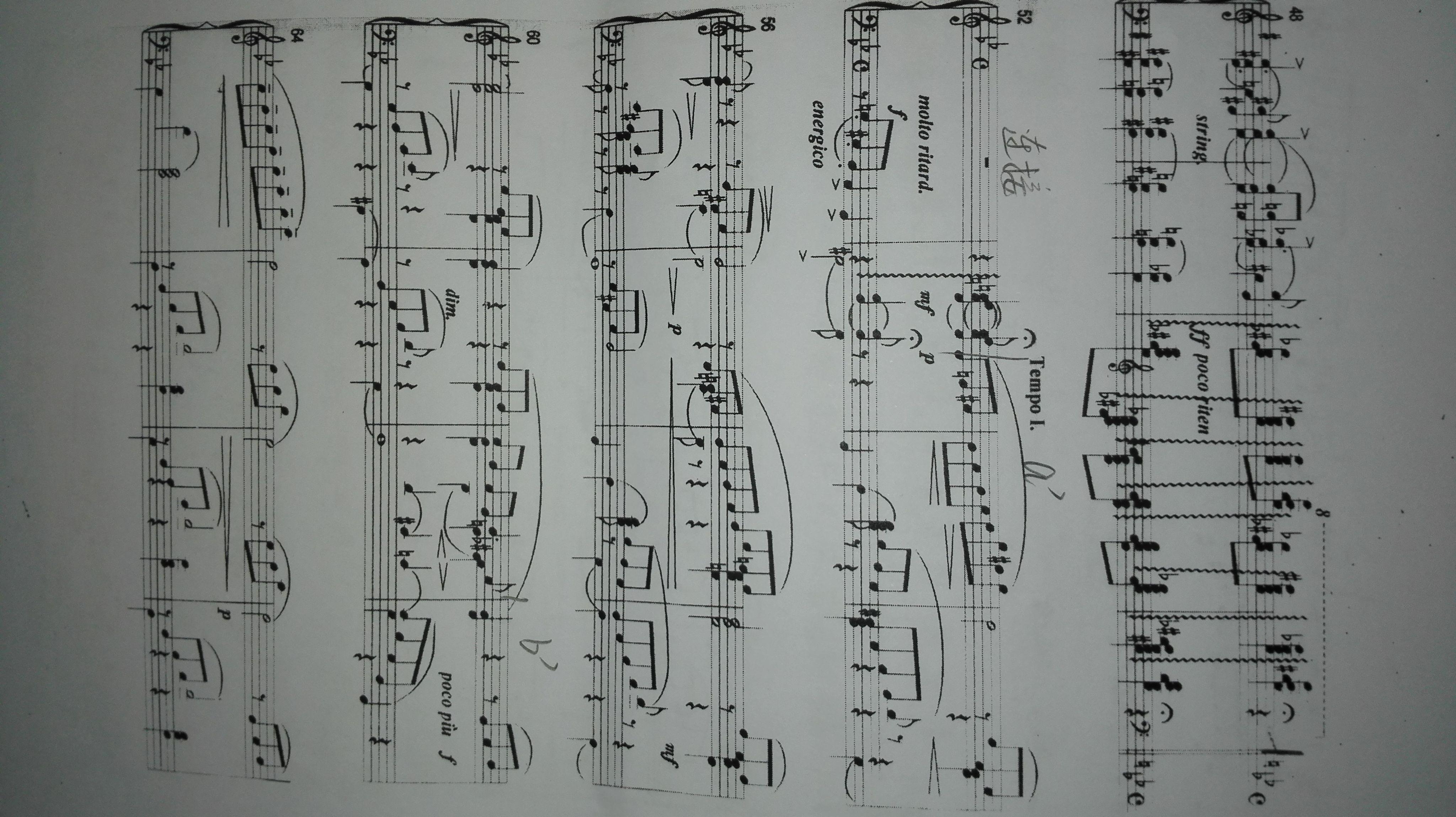 多声部,曲式分析,图示结构,在线求等!!!!! 注意一下,.图片