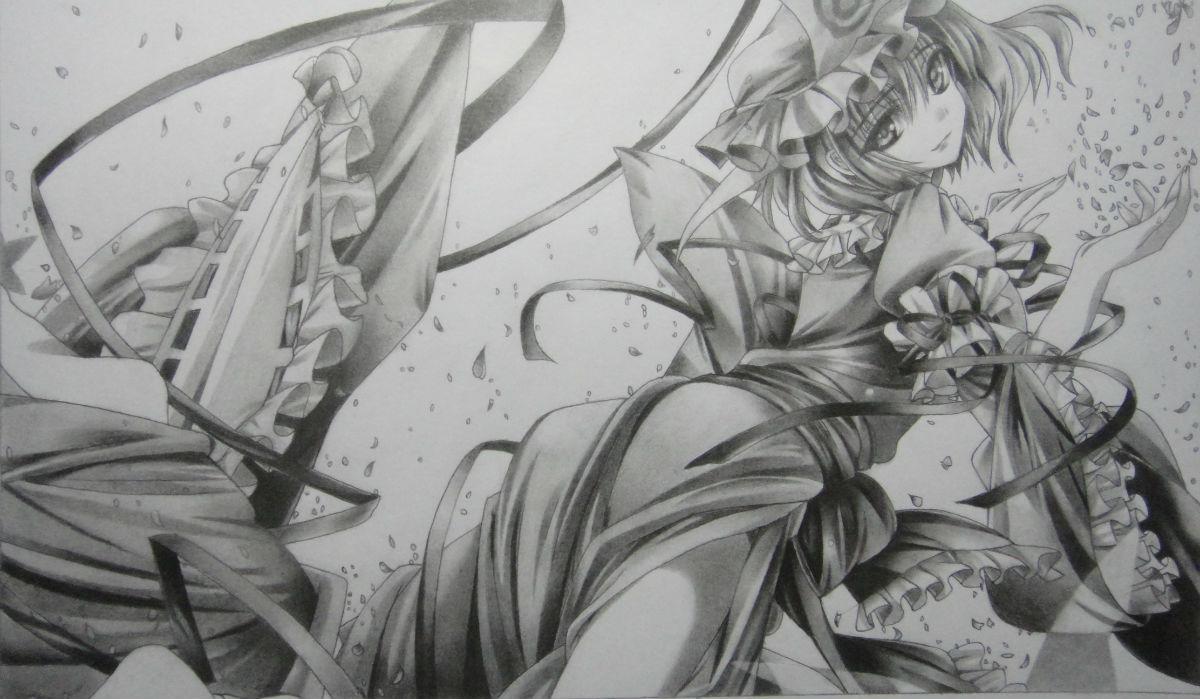 求手绘图.铅笔绘圆珠笔绘图 动漫图 精美图 好看点的