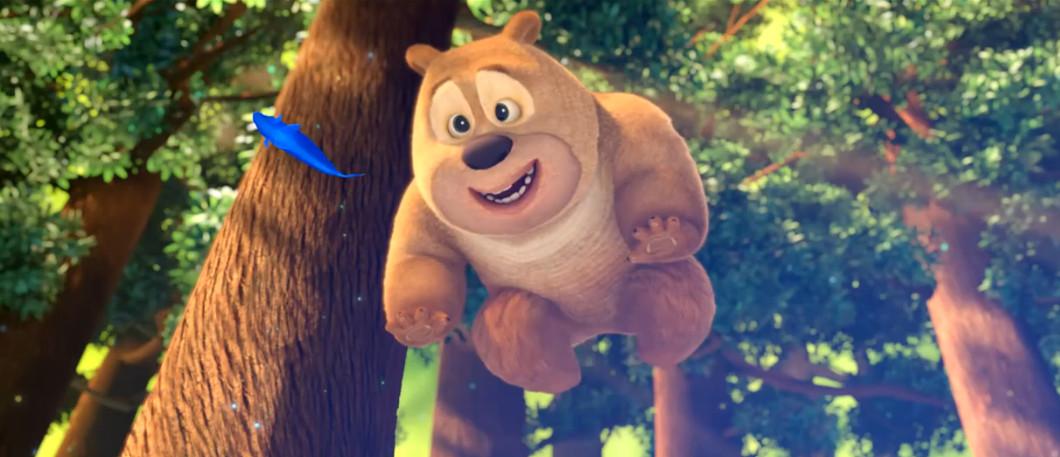 熊二小时候的照片
