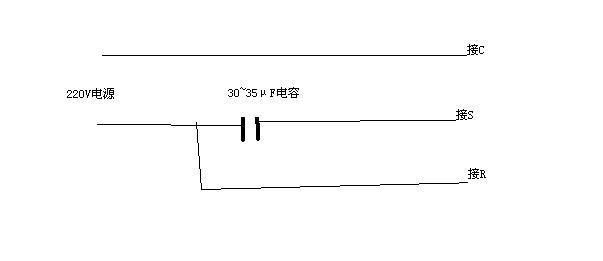 接线图如下,画的不是很好凑合用吧,(请确认压缩机电源为市电,1p~1.