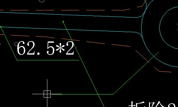 天正的cad中标注引出没有字cad命令po图片