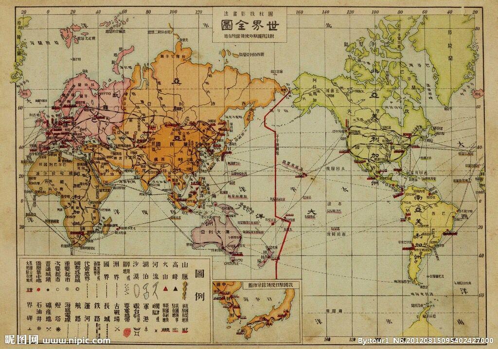 世界国家区���^�_第二次世界大战前期世界国家地图.(要图片!