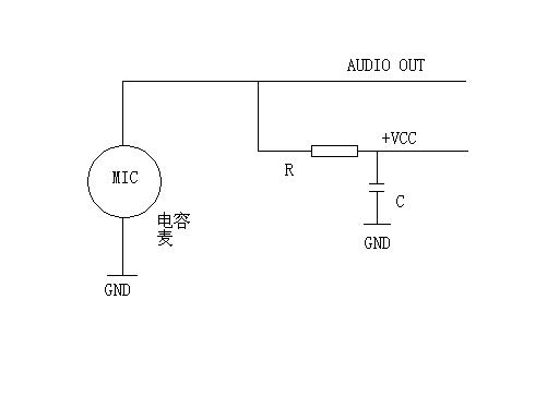 ——★2, 图中的  jk 就是输入信号插座:正常时  输入电容 c1 与话筒