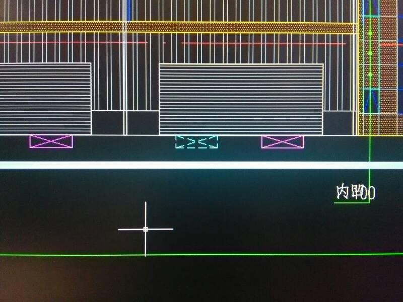 CAD立面图内一个文字里有两条对角线代表什cad矩形多行换行图片
