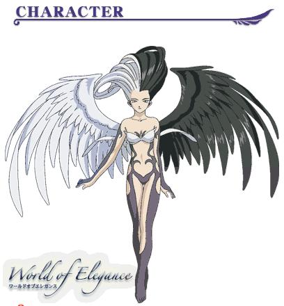 求一张天使与恶魔之翼的图片