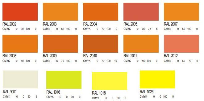 油漆色卡_油漆的色卡知道它对应颜色的rgb或cmyk值是多少啊 .米