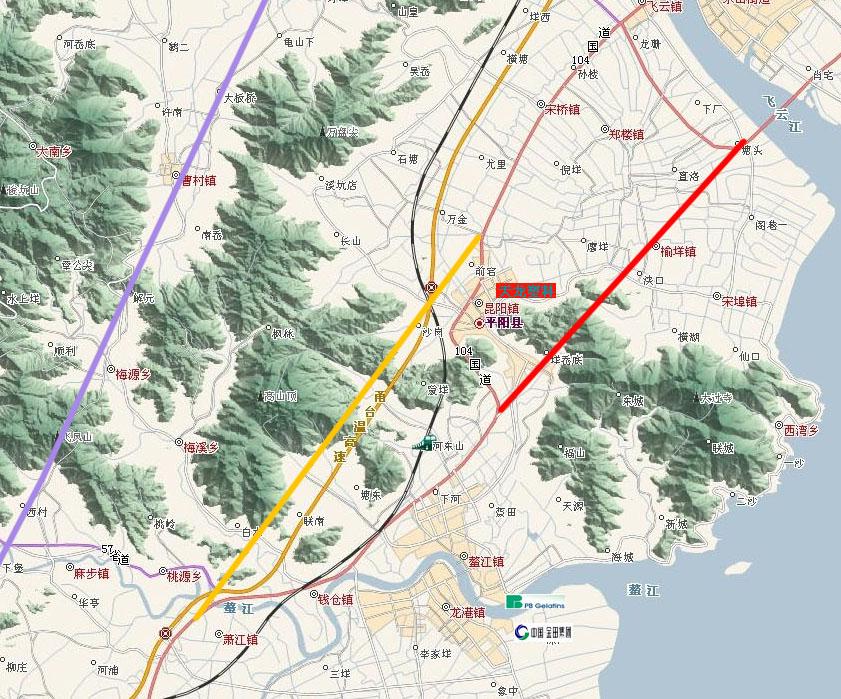 溧阳104国道南移规划图