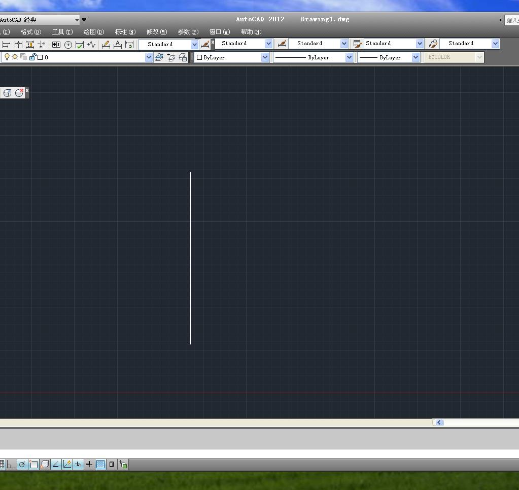 调整CAD的绘图书柜?第一张图是打开软件cad分怎么空间图片