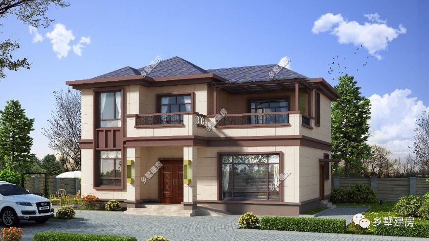 农村自建房别墅长12米,宽10米,怎样设计才好看?