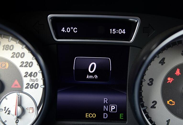 奔驰gla260自动变速箱挡位图