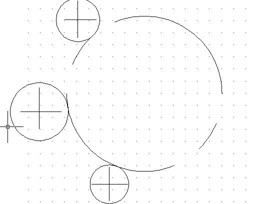 cad 画圆 圆弧不连续