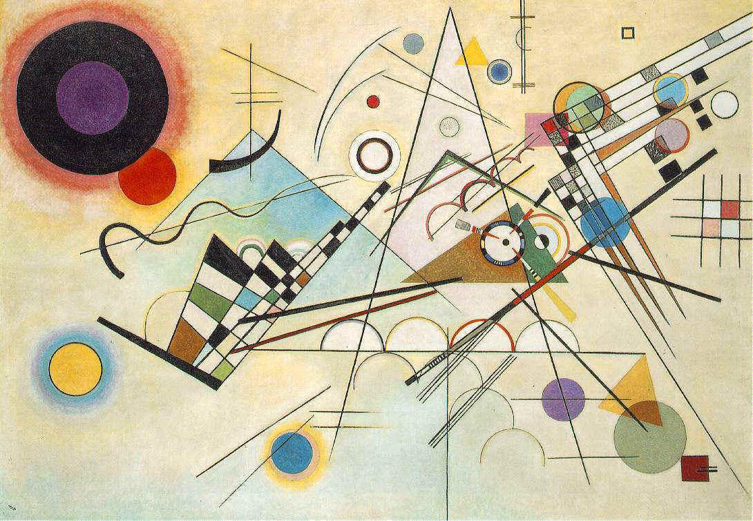 求一张抽象派画作的名字