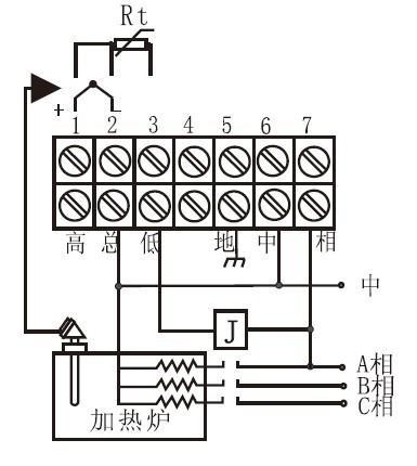 xmt-101温控器接线图