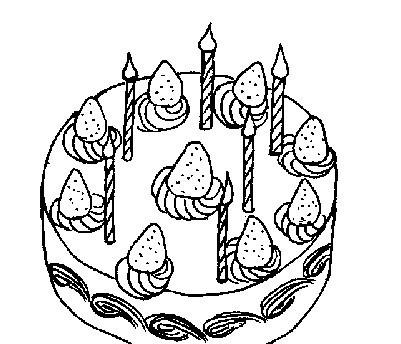 求三层生日蛋糕简笔画.是q版的,要可爱.底部要有奶油.