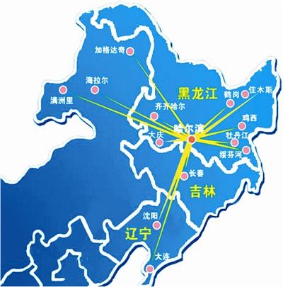 有东北三省的地图吗?