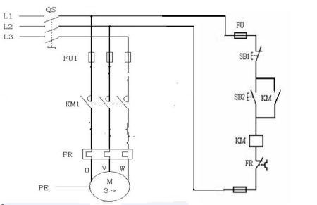 cjx2-0910交流接触器接线图