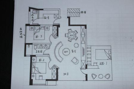求90平方米房屋设计图纸,急急