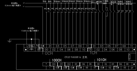 plc外部接线图是怎么样的?主要是输出和输入连线是怎么个概念?