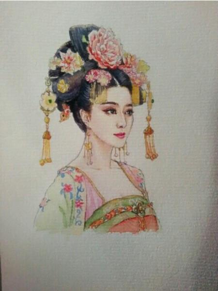 甄嬛传,武媚娘传奇手绘图片