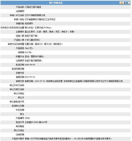 在大连的文号做监督,批准药品22024319,网站螃蟹食品活动说是查.电台脐盖图片