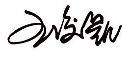 王俊凯的签名怎么写 最好是他亲手签的图片