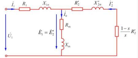 三相异步电动机的t型等效电路是三相中一相的电路,还是三相的电路?