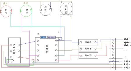 求三相电机控制电路实图,只需要主电路部分!急!请各位