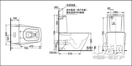 马桶安装步骤         1,检查即将安装座便器的地面水平度,如果发现