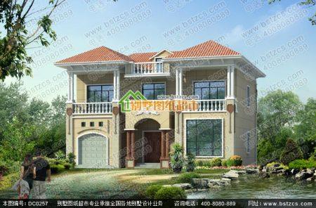 农村房子20万四间两层房设计