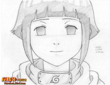 火影忍者 有雏田 的图(好看的)(最好是素描)
