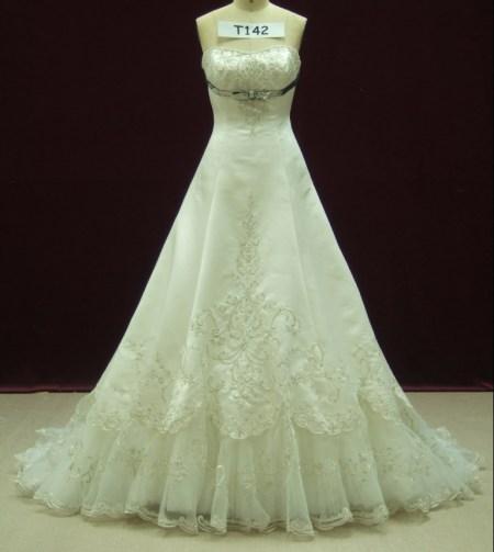 婚纱设计图怎么画?图片