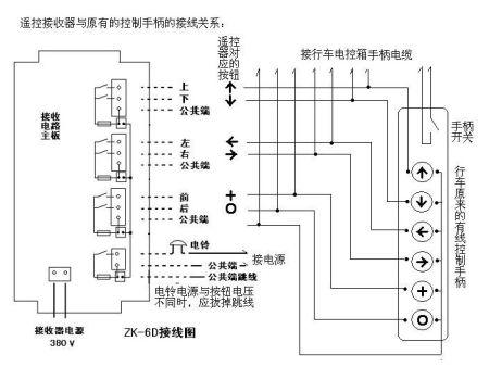 行车遥控器接线图