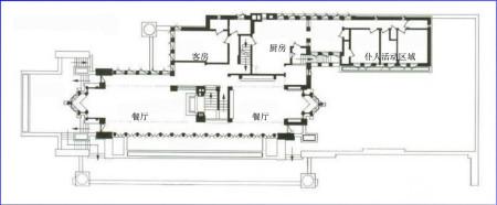 罗宾别墅的平面图,全一点的