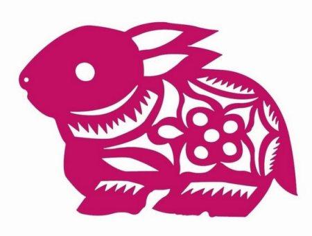 简单的剪纸兔子怎么剪