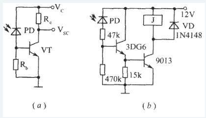 利用光敏三极管设计一个开关电路