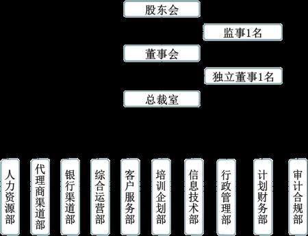 保险代理公司的组织结构