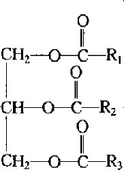 已经鉴定脂肪酸种类就有500多种,这样的话其结构式就会有各种形态.图片