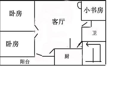 宽8米长12米房屋平面图