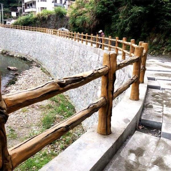 河源在园林景观中用了哪些仿木类的产品?(图3)