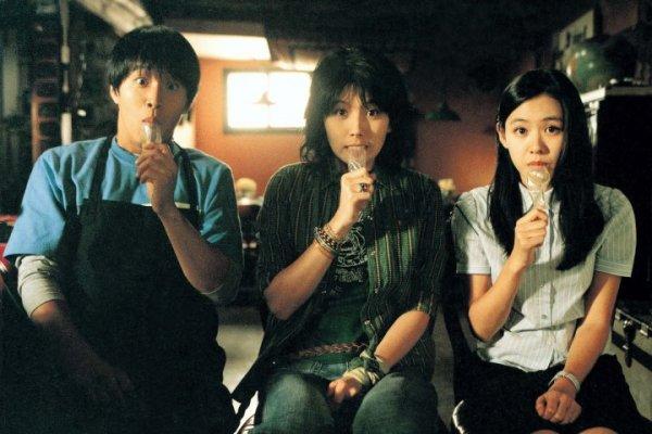 有一部上外,时期电影高中的好朋友,两女一男,一v上外高中三个第一图片